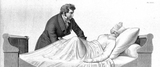 Vaginal examination , from Maygrier, Nouvelles...1825