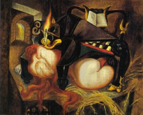 André Masson - Le pianotaure (1937)