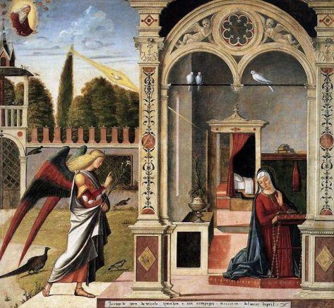 La Anunciación - Vittore Carpaccio