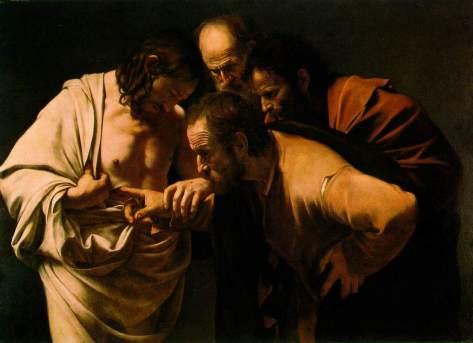 La incredulidad de Santo Tomás (1602)