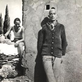 Ana María y Salvador Dalí