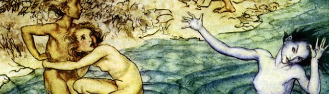 Ogros, hadas y  trolls de Arthur Rackham