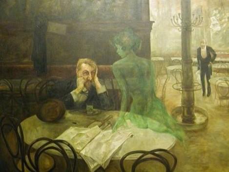 El bebedor de Absenta - Viktor Oliva