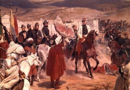 El Mariscal francés Thomas-Robert Bugeaud, en 1846 - Emile Jean Horace Vernet