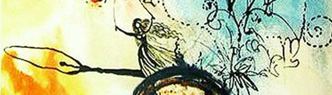 Alicia ilustrada por Dalí