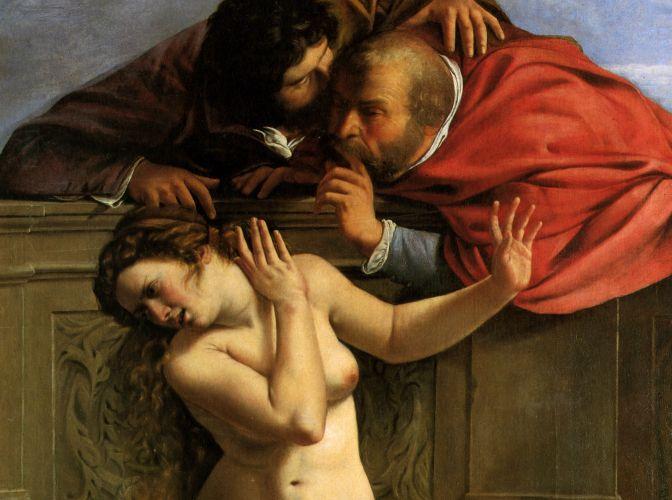 Artemisia, lienzo en femenino.