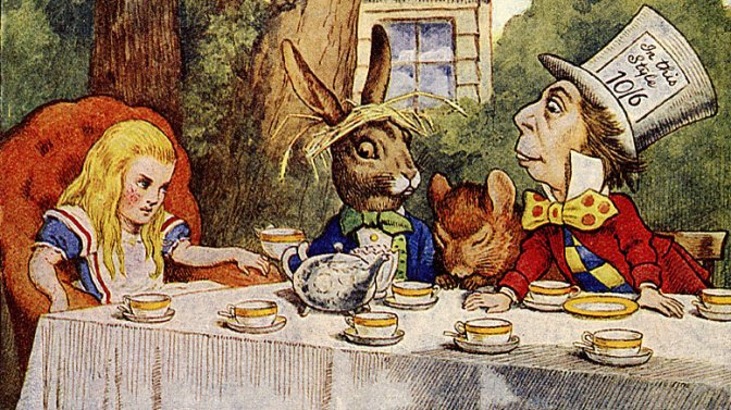 Los Juegos de Mentes de Lewis Carroll